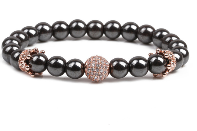 Image of Natural Crown Stone Bracelet