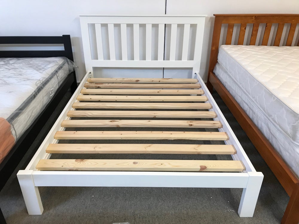 Image of Tracy Bed Frame-White