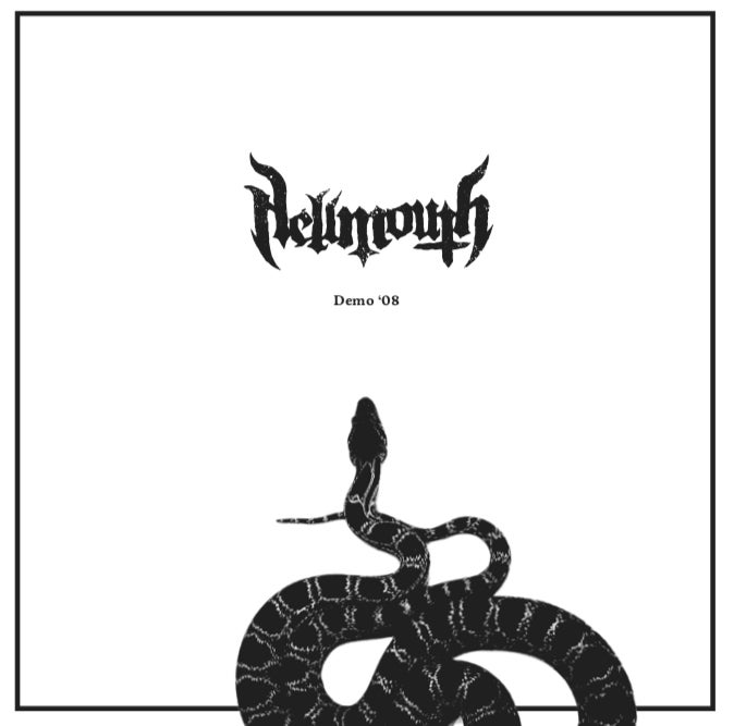 Image of Hellmouth- 2008 DEMO/COVERS LP