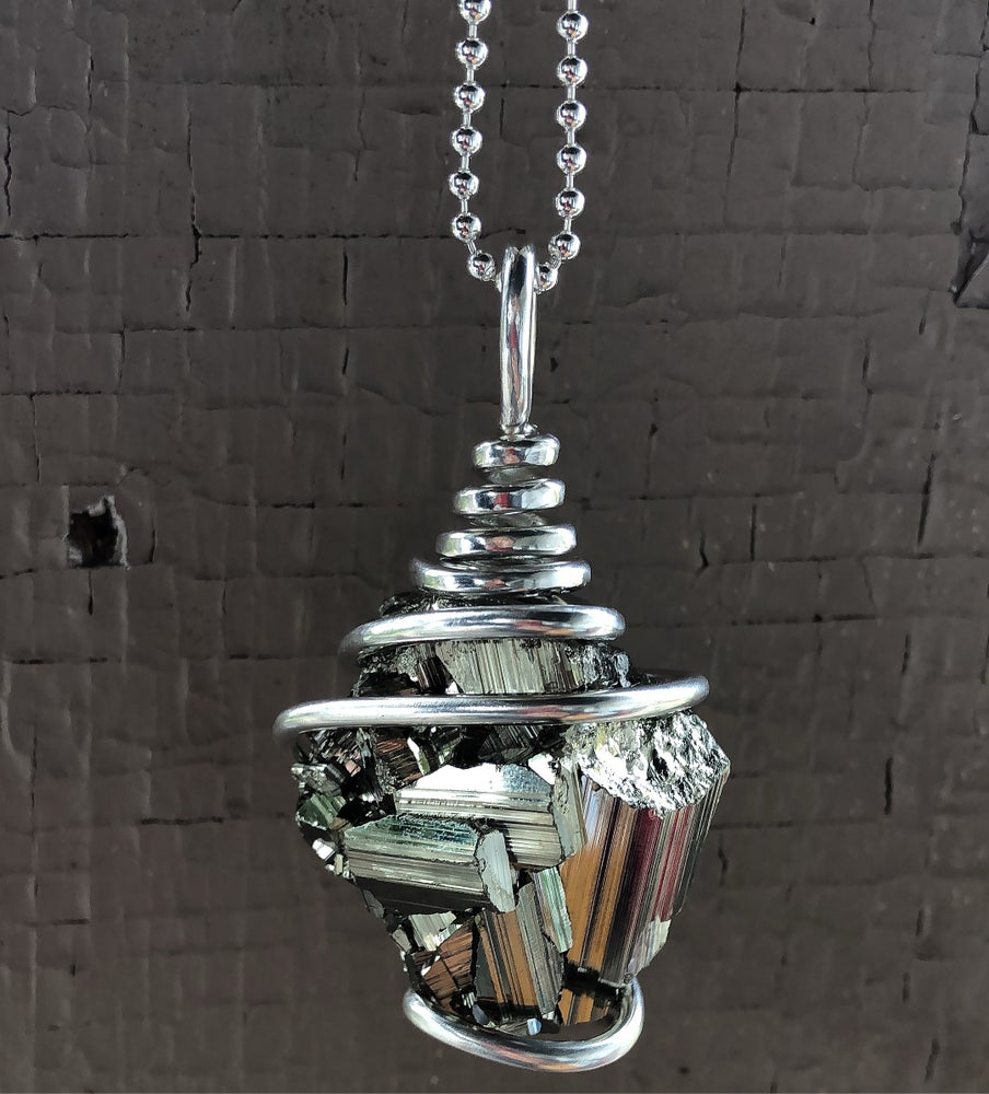 Image of Silver Wrapped Peruvian Pyrite
