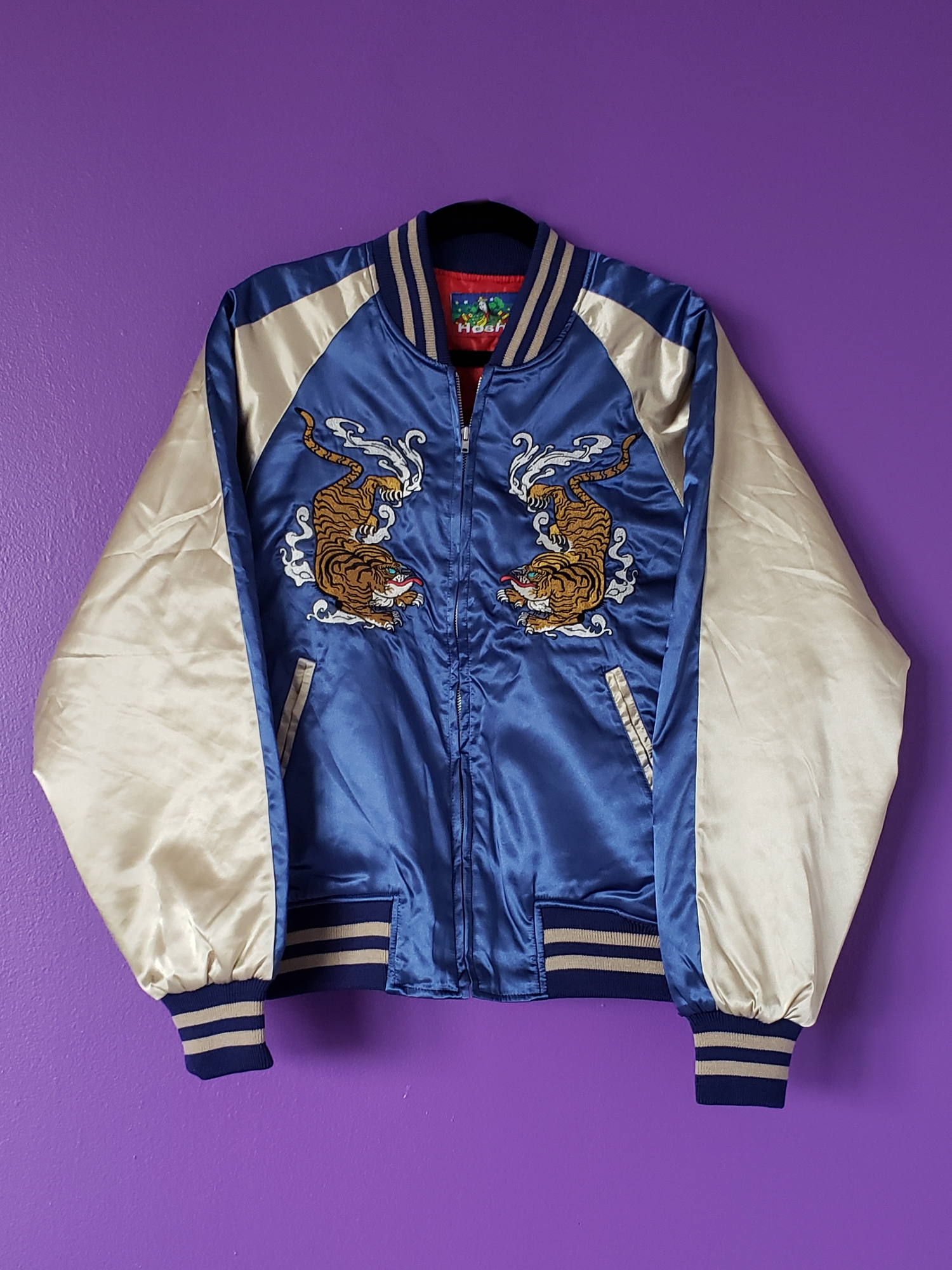 Image of Osaka-Osucka Sukajan Satin Jacket