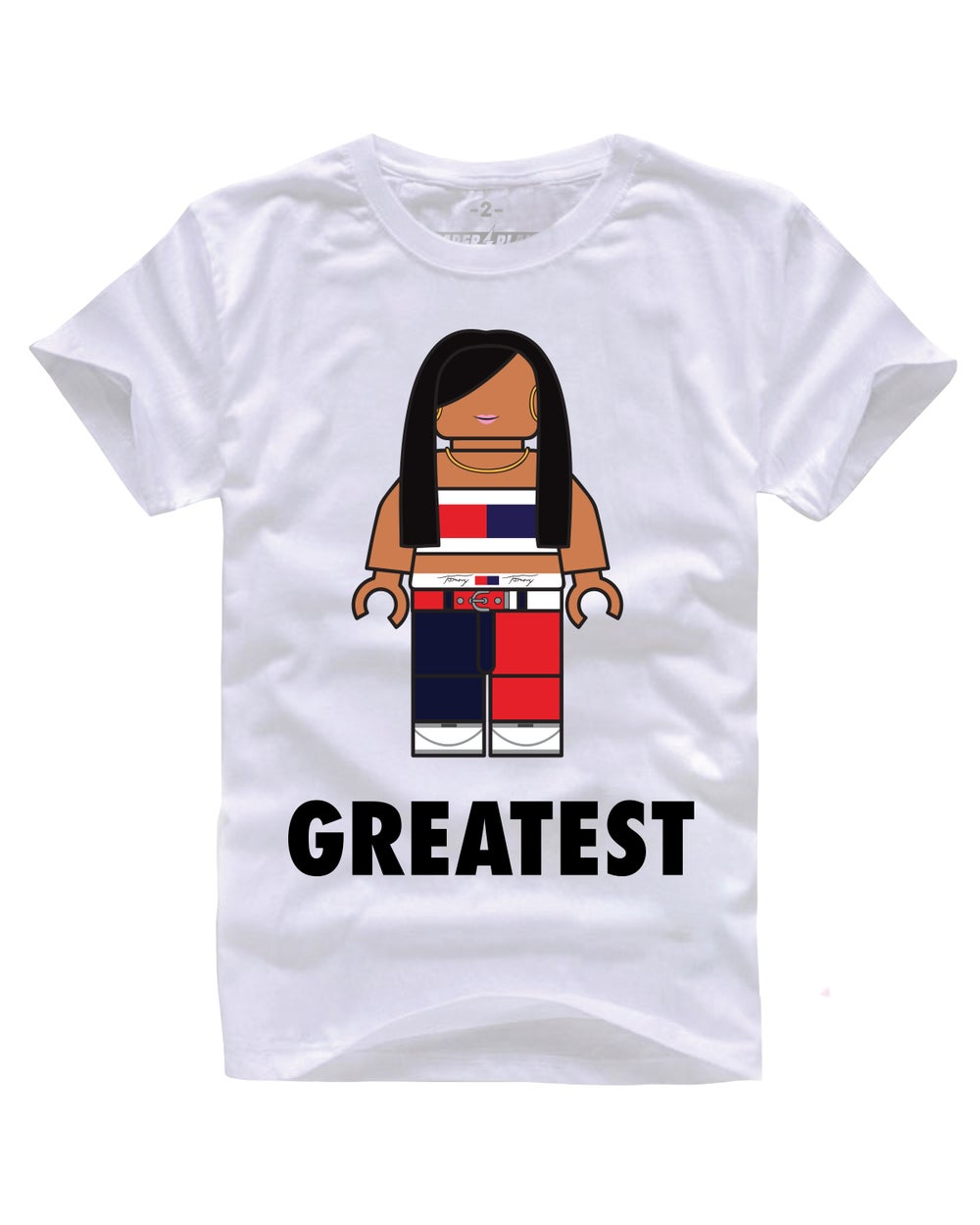 GREATEST LIYAH TEE WHITE