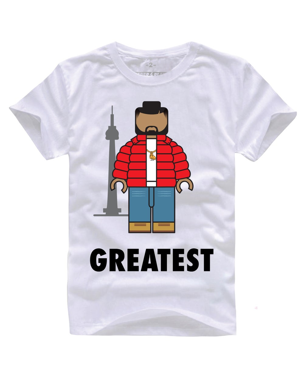 GREATEST DRIZ WHITE TEE