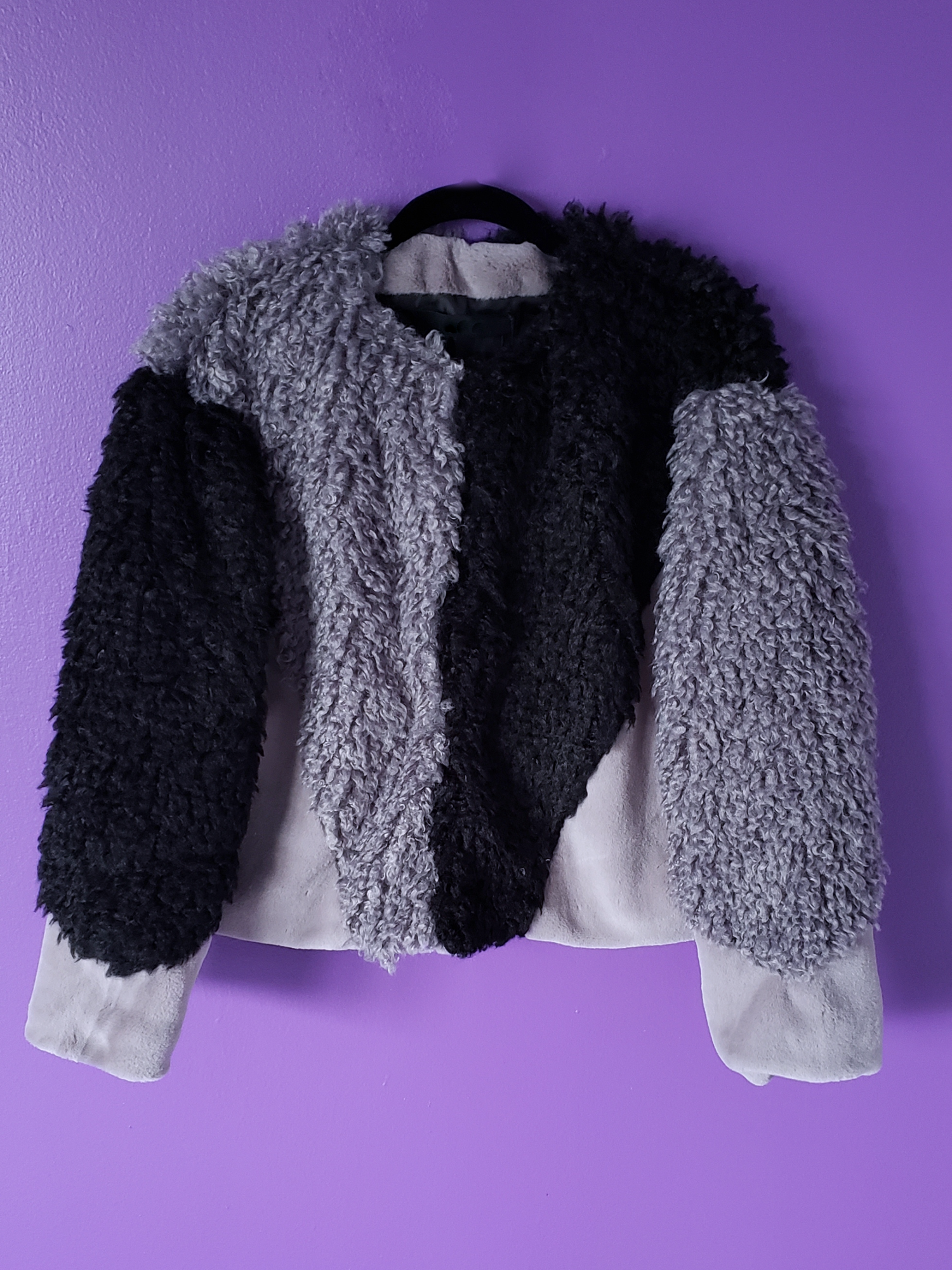 Image of Sumiko Faux Fur & Shearling Jacket
