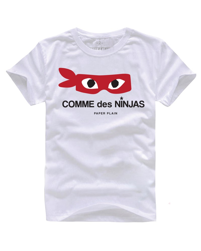 Image of COMME DES NINJAS TEE WHITE
