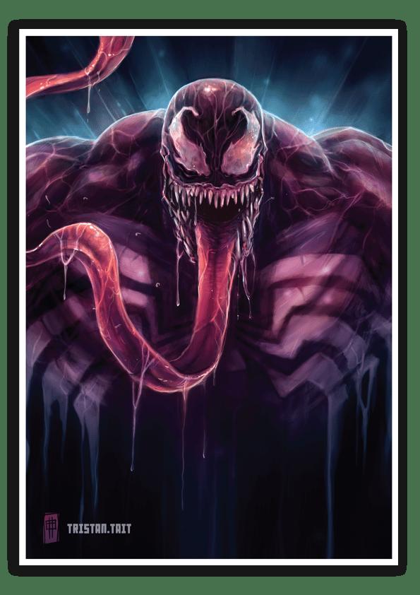 Image of Venom - A3 Poster Print