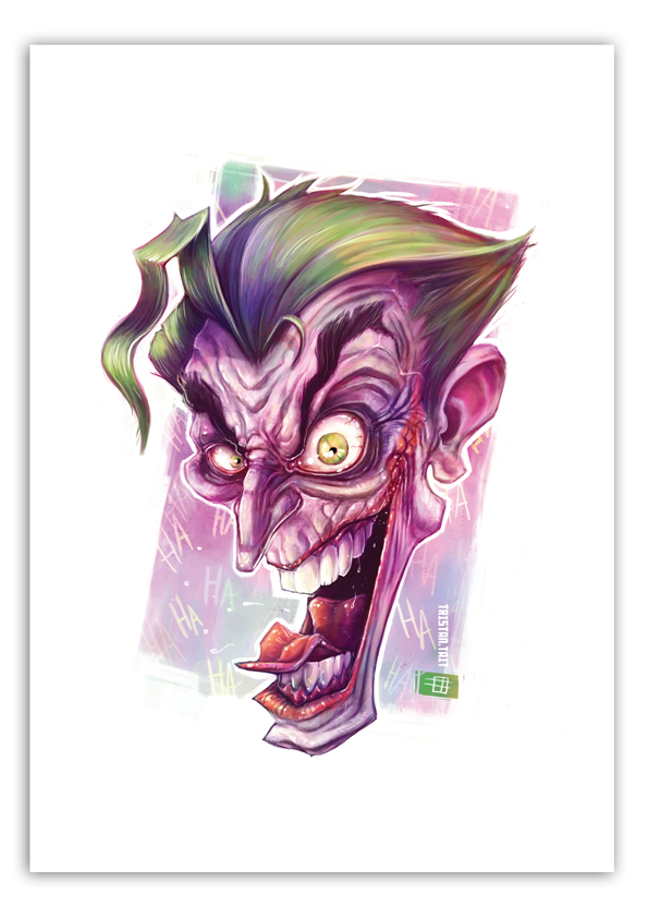 Image of The Joker - A3 Poster Print