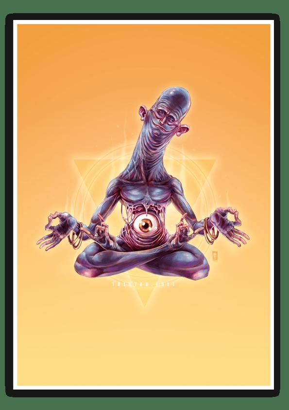 Image of Third Eye - A3 Poster Print