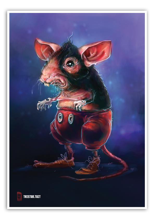 Image of Michael Mouse - A3 Poster Print