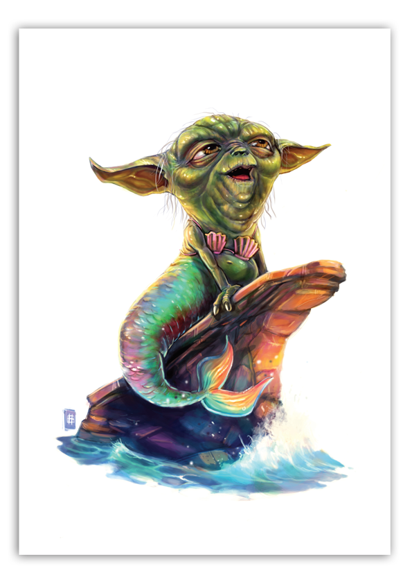 Image of Mermaid the 4th - A3 Poster Print