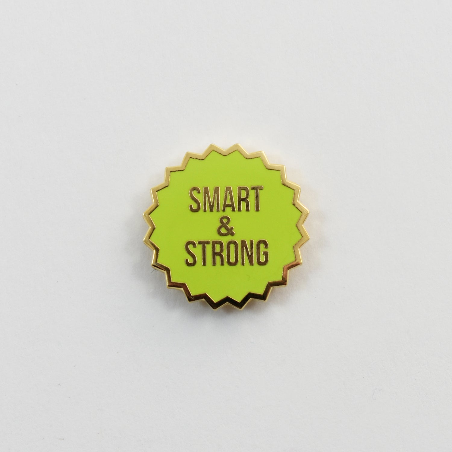 Image of Smart and Strong Pin