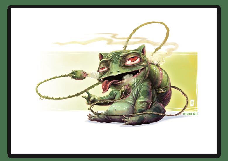 Image of Bulbasaur - A3 Poster Print