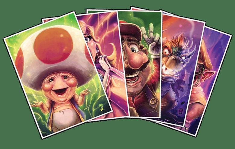Image of Super Mario Bros Set of 5