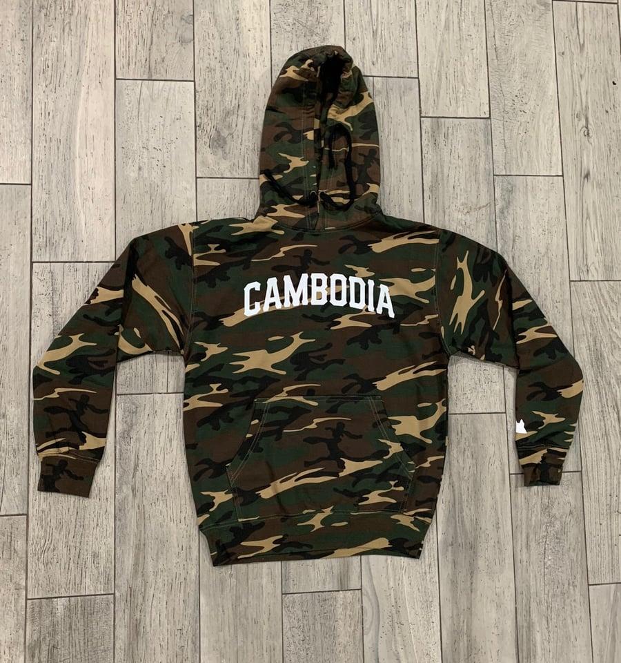 Image of Camo Cambodia Hoodie
