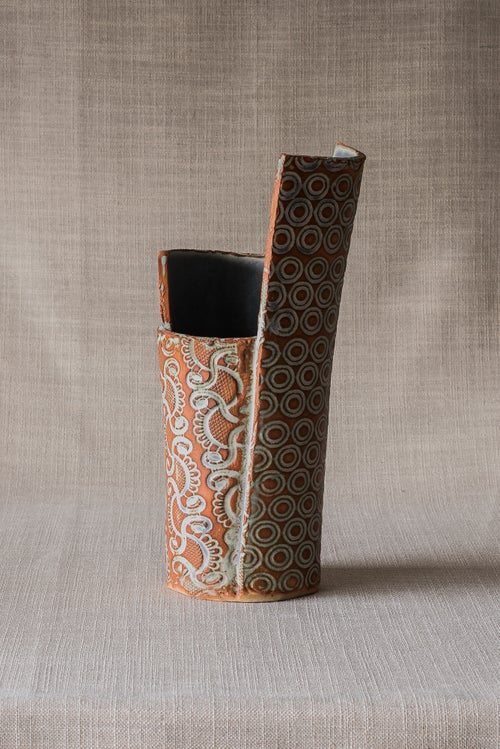 Image of TEXTURE COPPER VASE