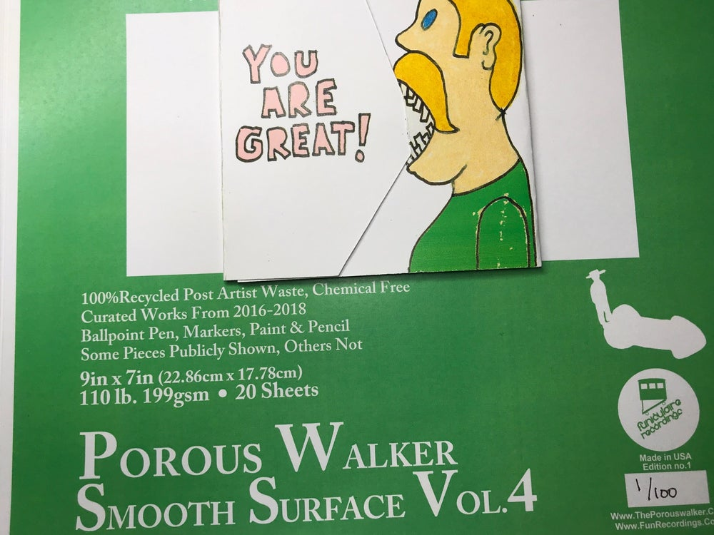 Image of Porous Walker Smooth Surface Vol. 4 (PRE ORDER)