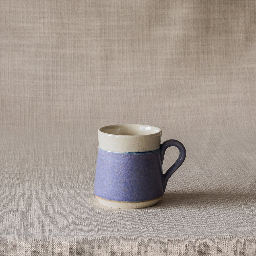 Image of EARTHY PURPLE PYRAMID MUG