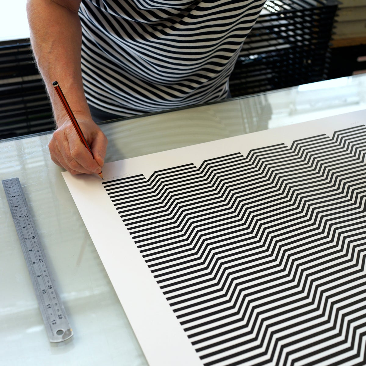 Image of Shimmer screenprint