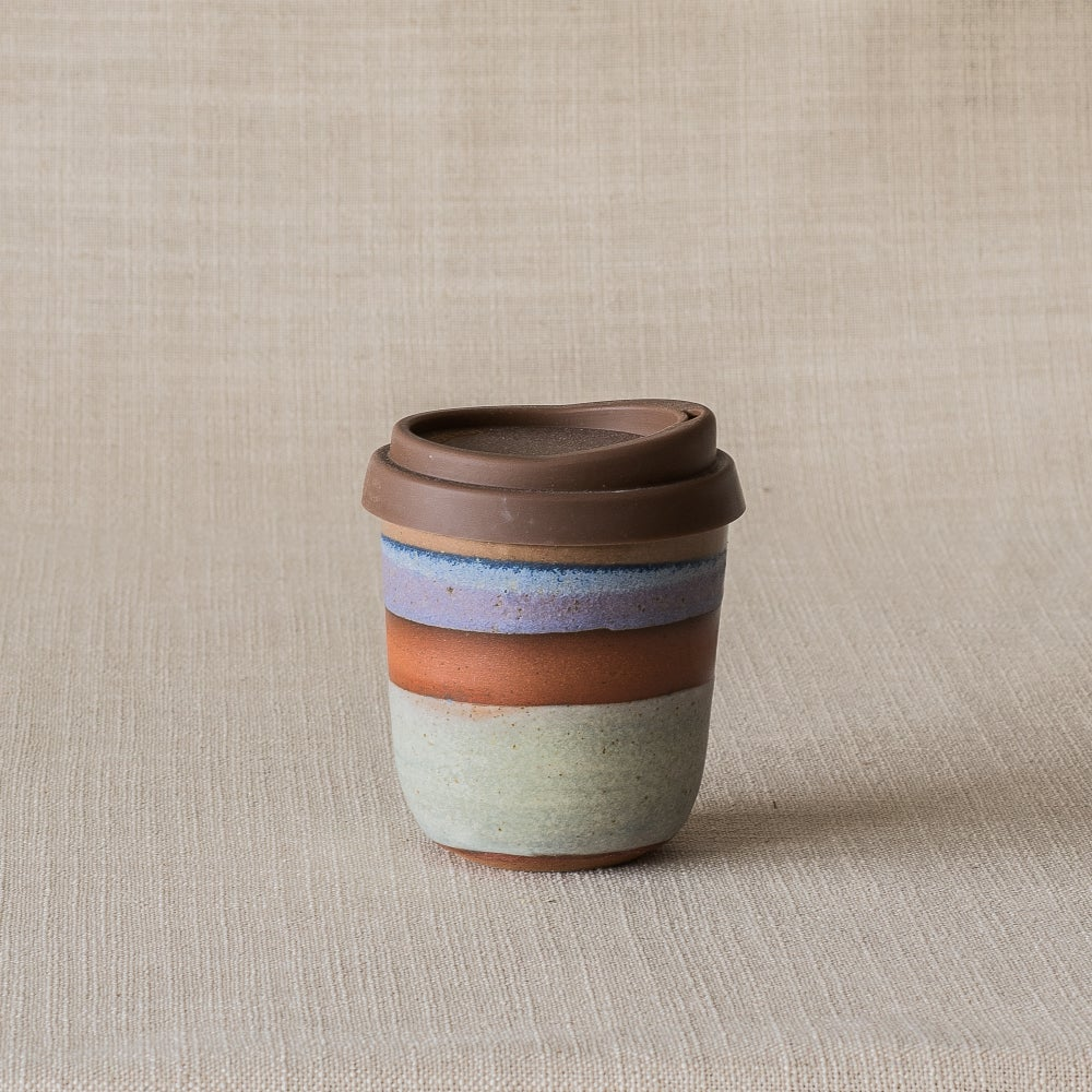 Image of DUSK GREEN/PURPLE  TRAVEL CUP