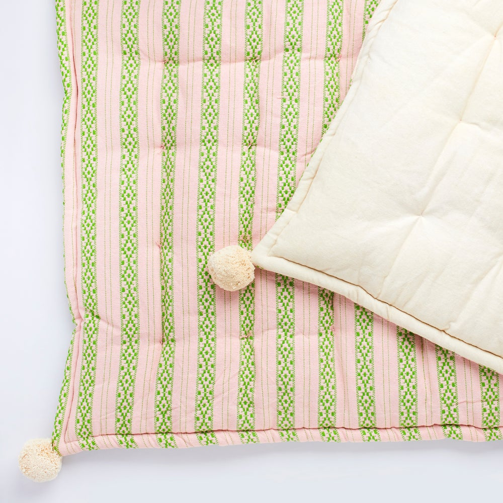 Image of P o l k u mattress, blush pink
