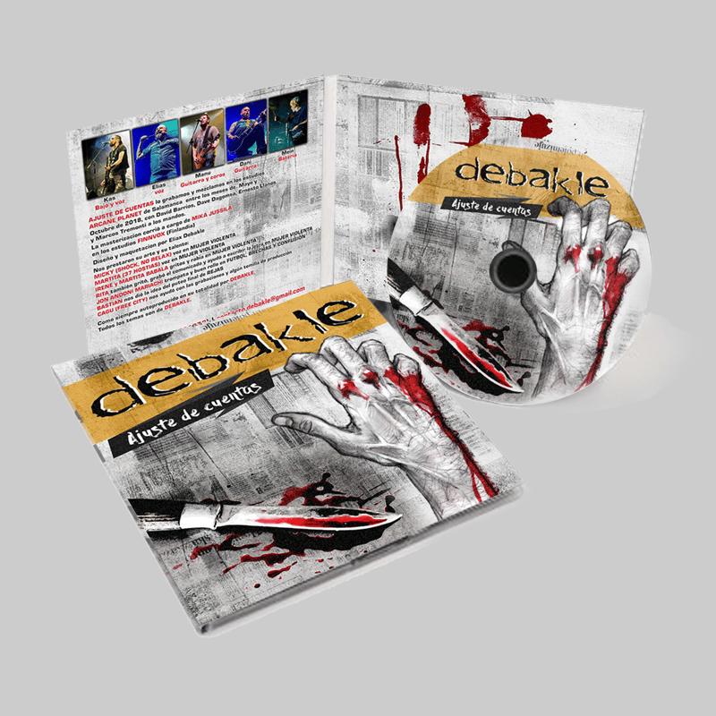 """Image of CD """"Ajuste de Cuentas"""""""