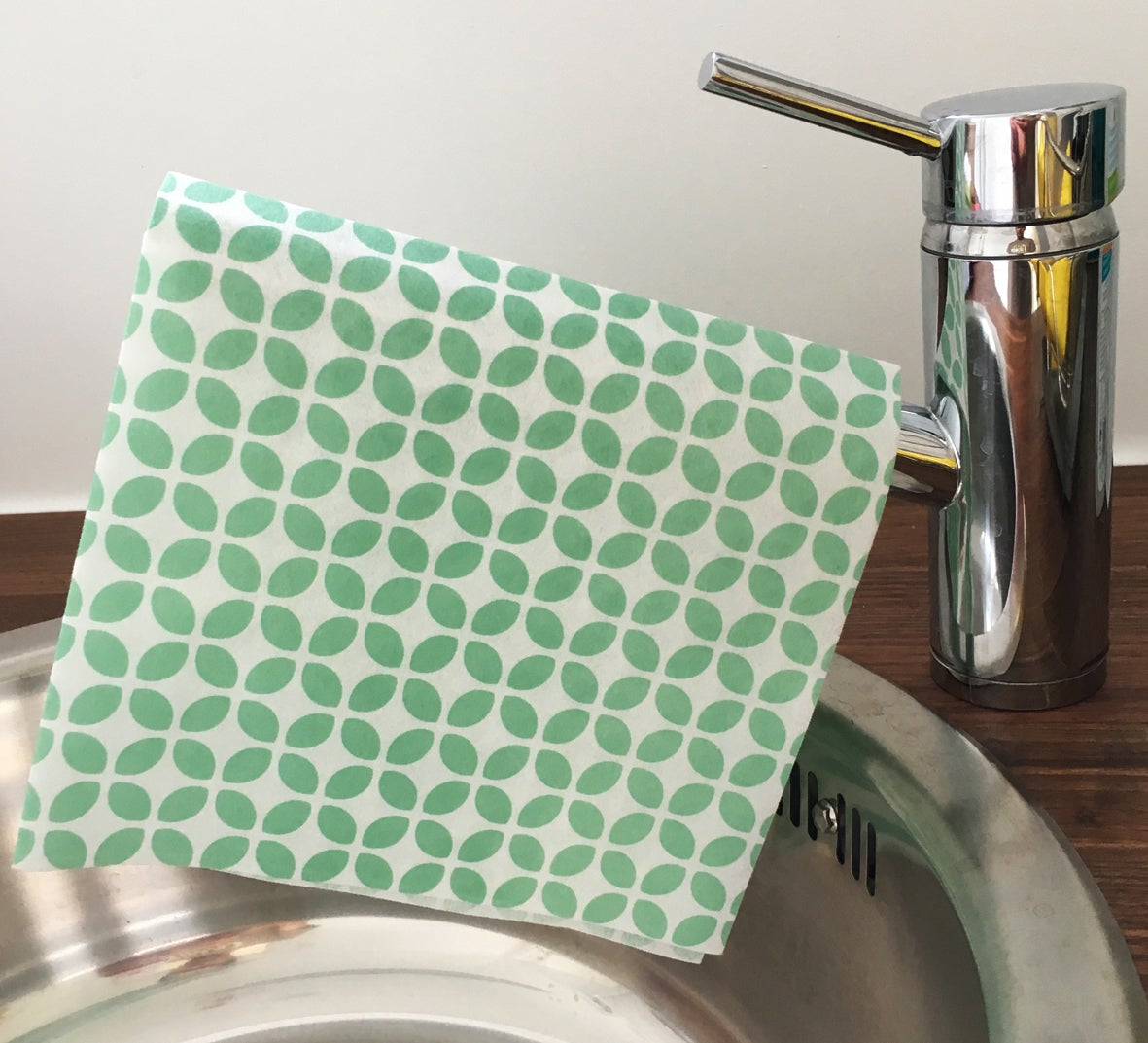 Image of Sustainable Green-Leaf Ultra Absorbent Cloths - 24 cloths