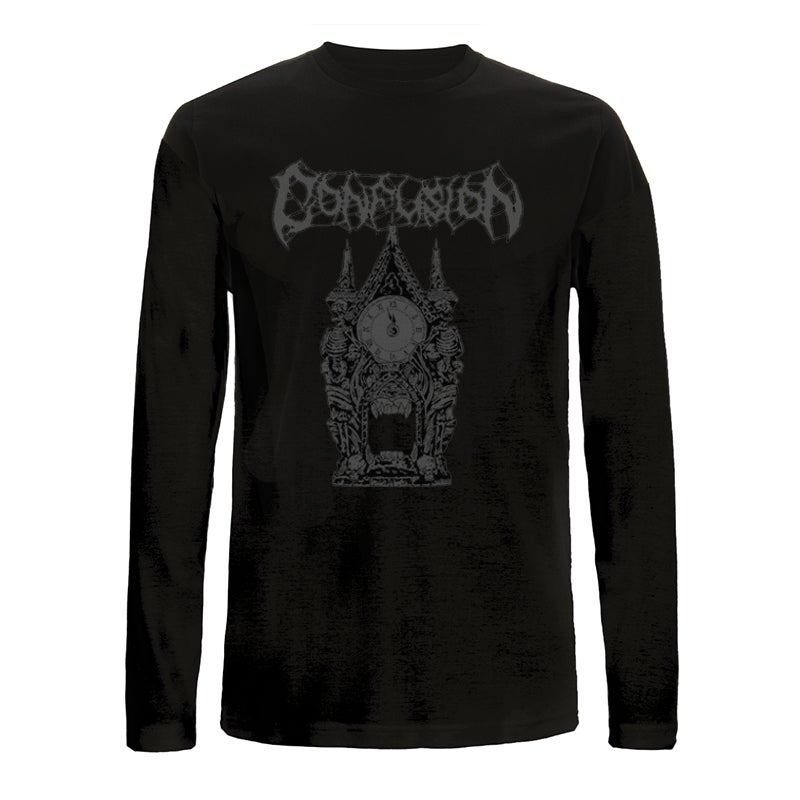 "Image of Confusion ""Clock Tower"" longsleeve"