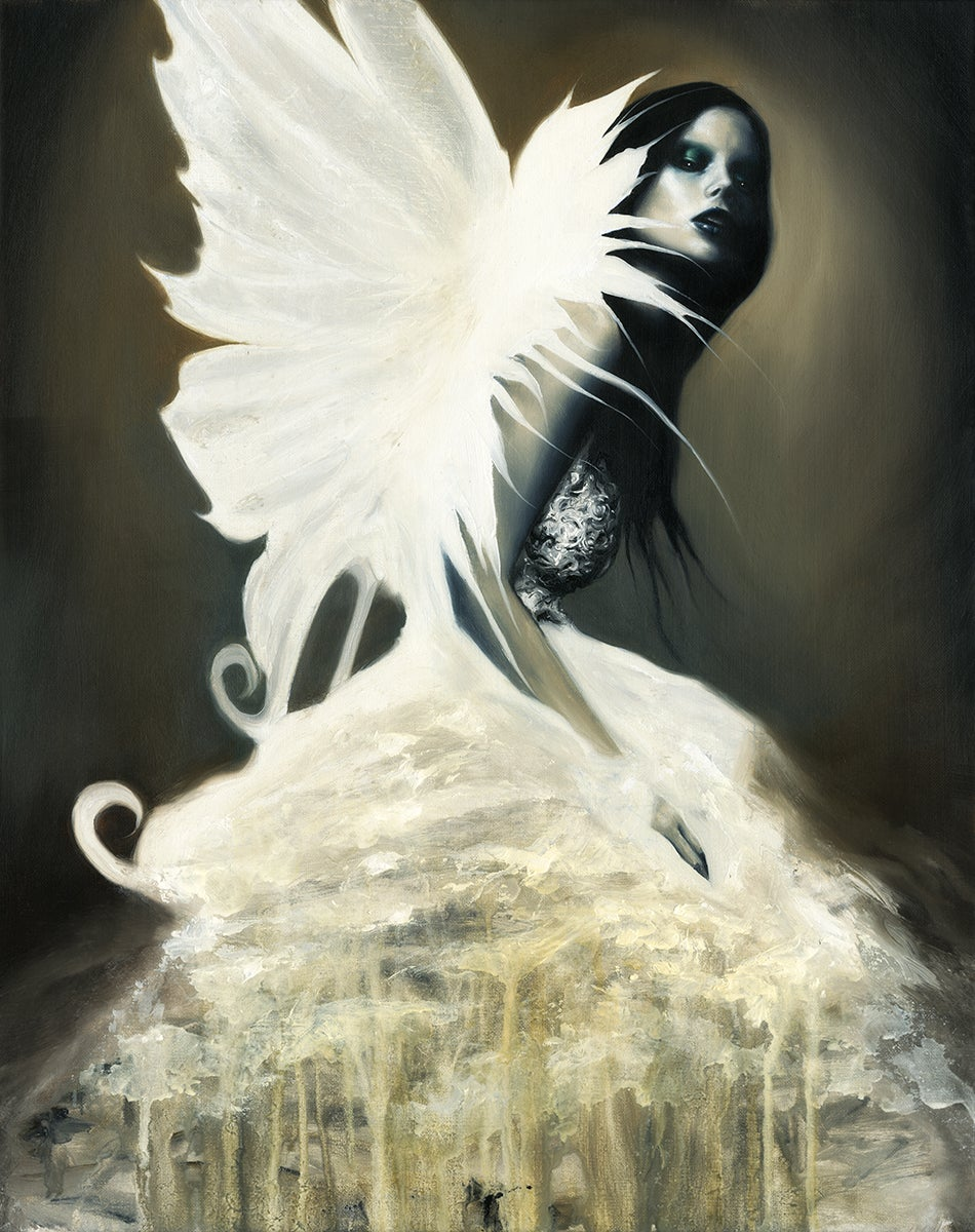 Image of sylph (Canvas print)