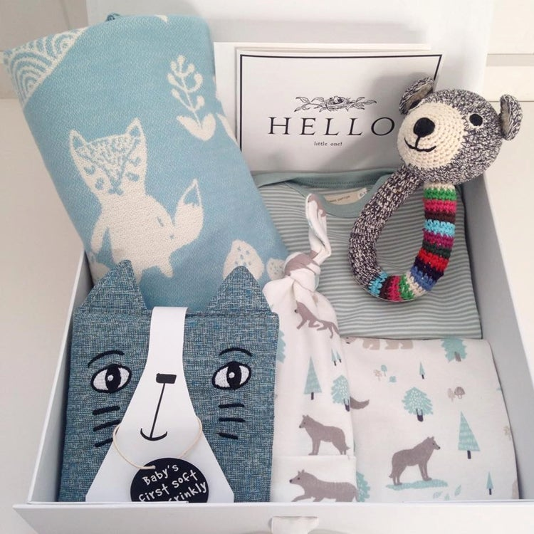 Image of Organic Woodland Baby Gift Box