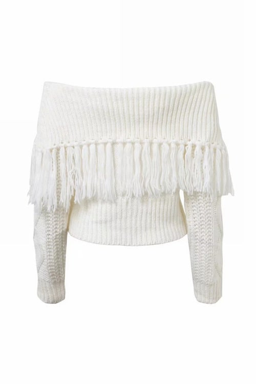 Image of Mollie Fringe Jumper