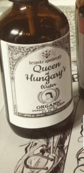 Image of 16 oz. REFILL for Organic Queen of Hungary's Water Facial Toner