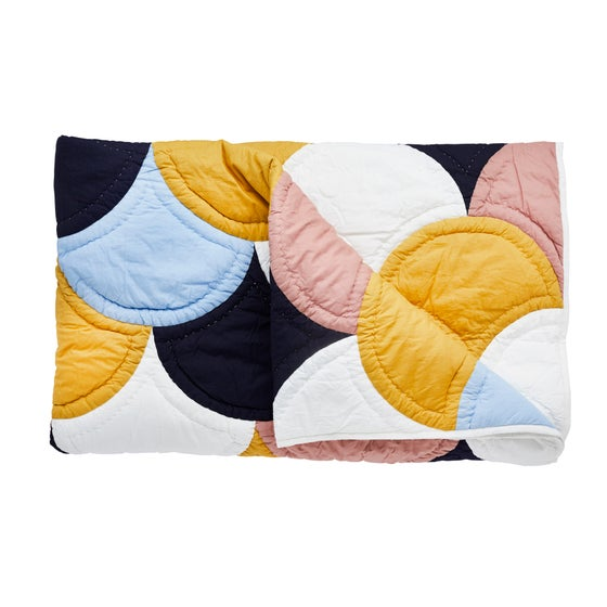 Image of K o s k i patchwork blanket