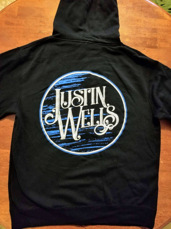 "Image of Justin Wells ""Blue Moon"" Hoodie"