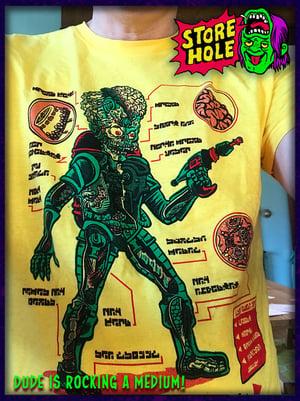 Anatomy Of The Martian T-shirt