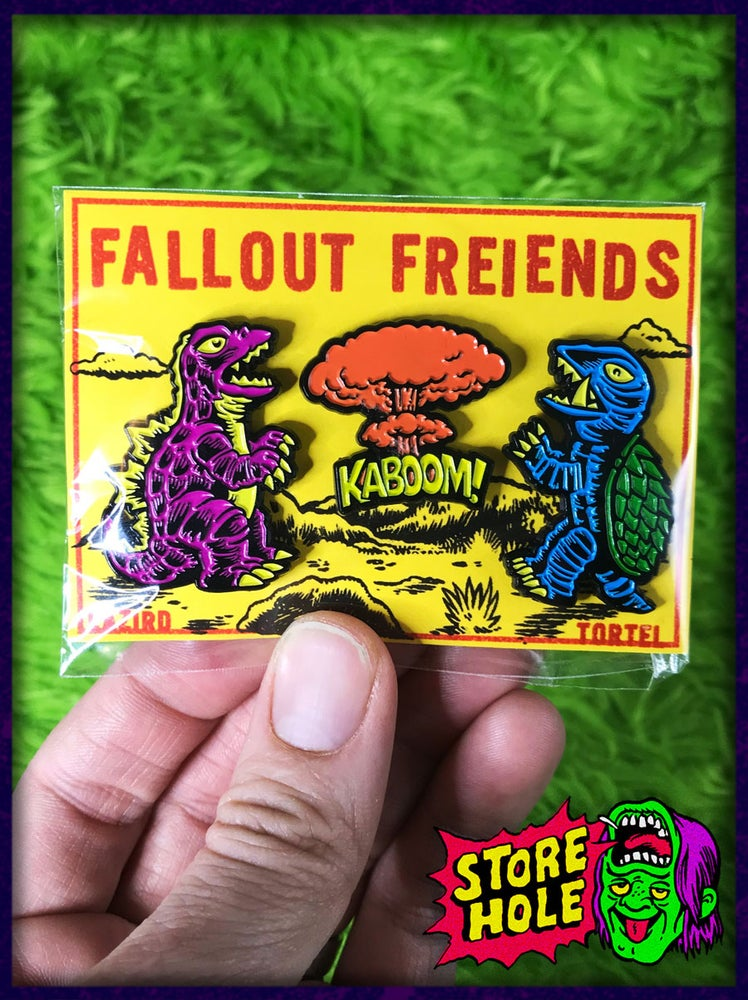 Image of Fallout Freiends 3 pin set