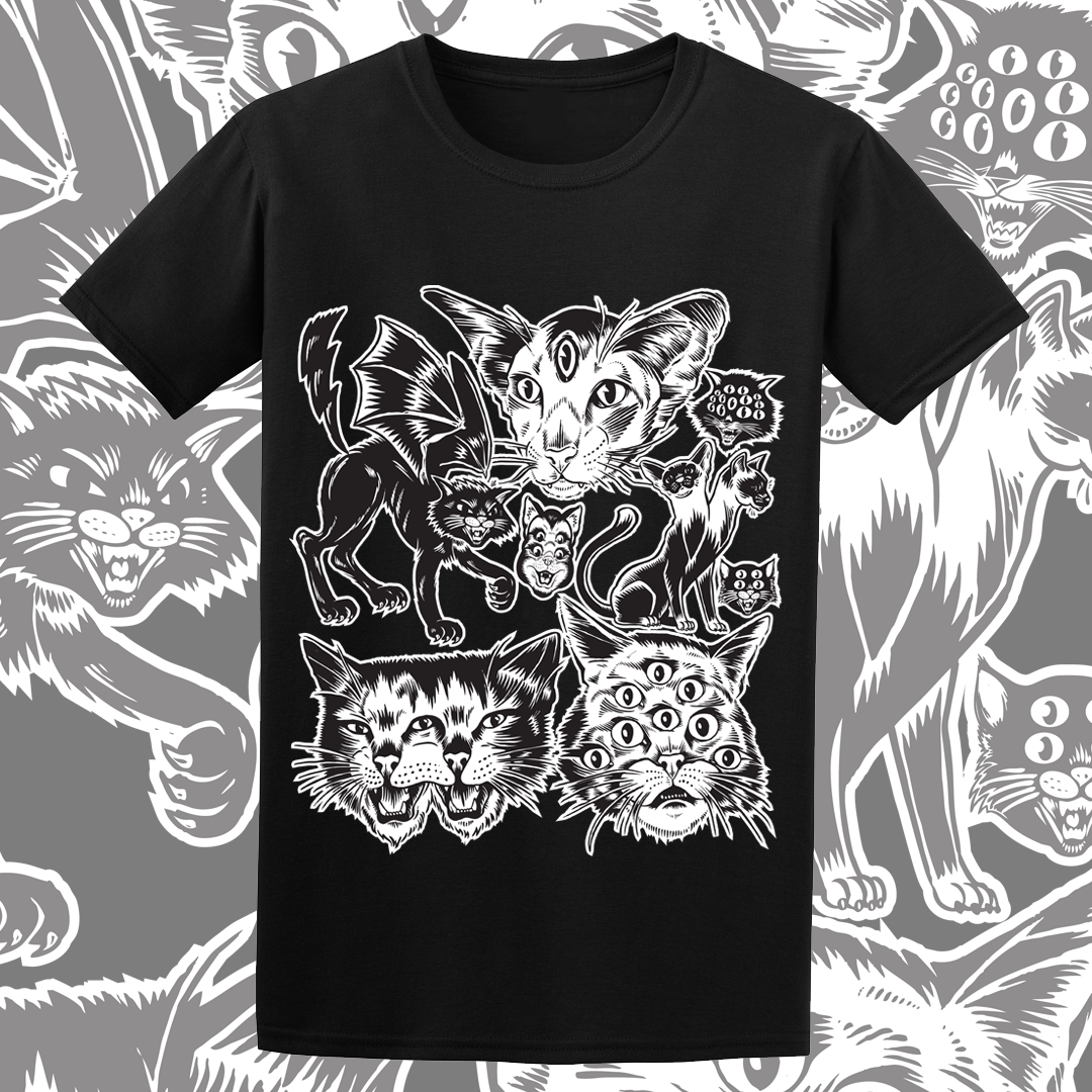 Image of 'Hell Kitty Club' T-Shirt