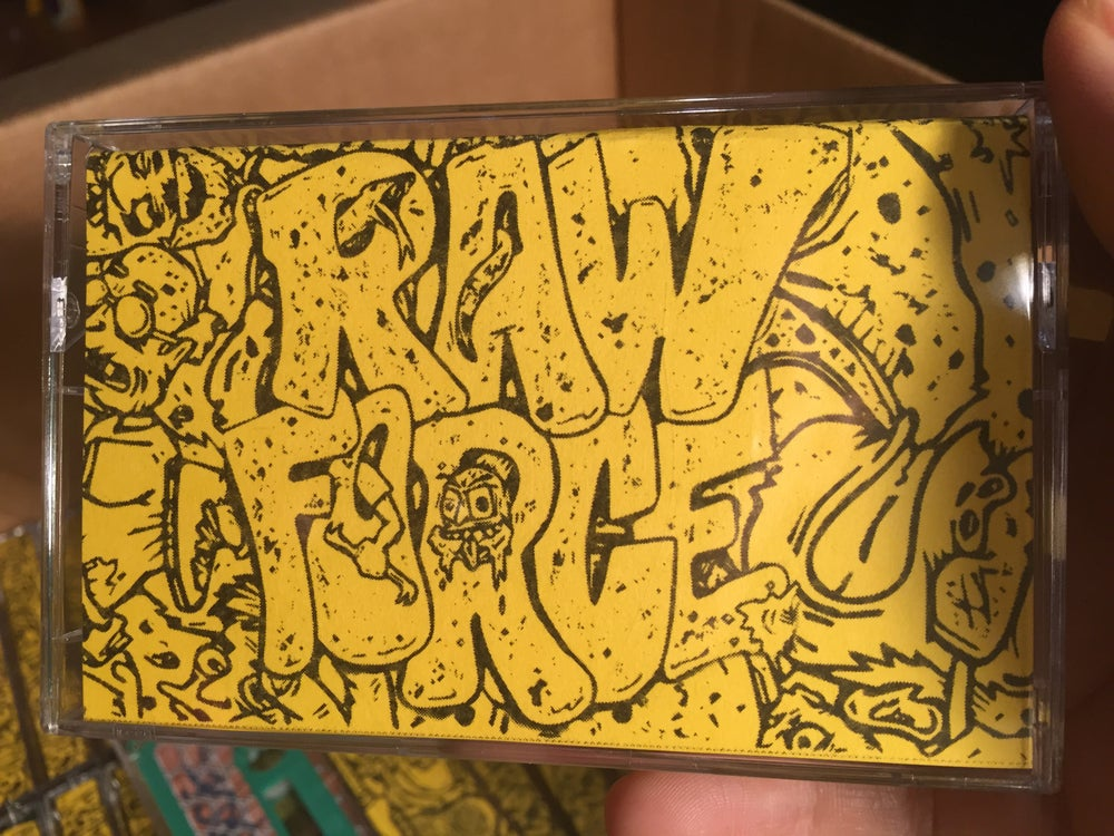 Image of Raw Force Demo 2018 Casette
