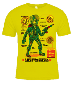 Image of Anatomy Of The Martian T-shirt