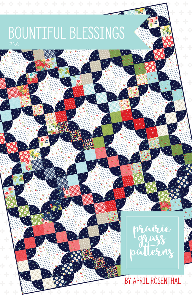 Image of Bountiful Blessings Quilt Pattern #155