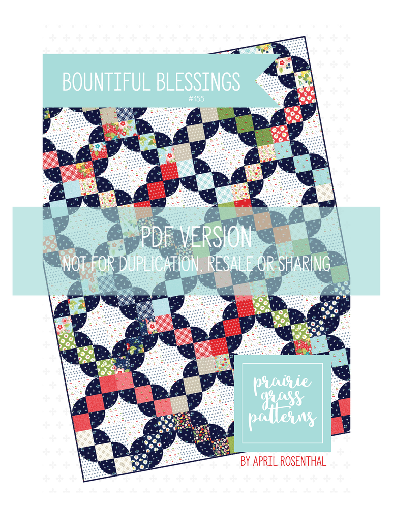 Image of Bountiful Blessings PDF pattern #155