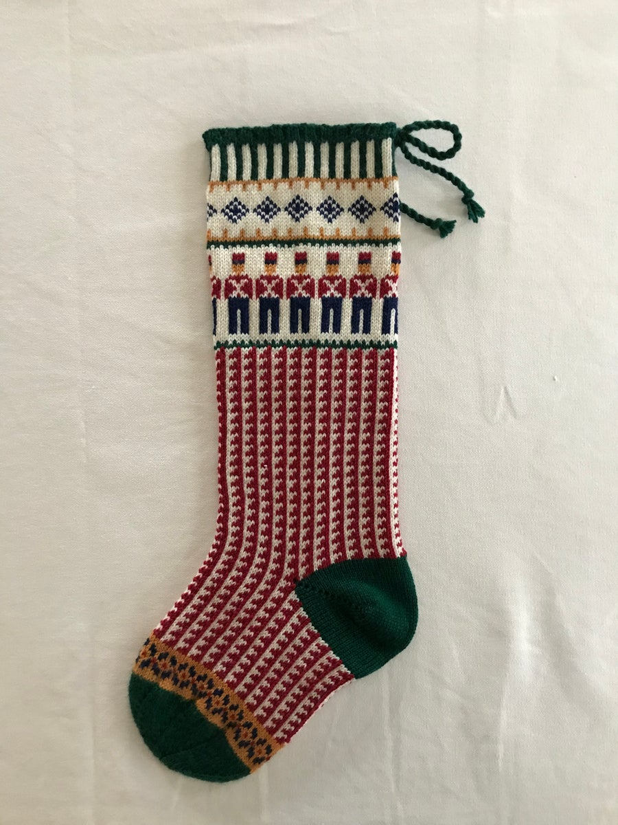 Image of Toy Soldier Christmas Stocking
