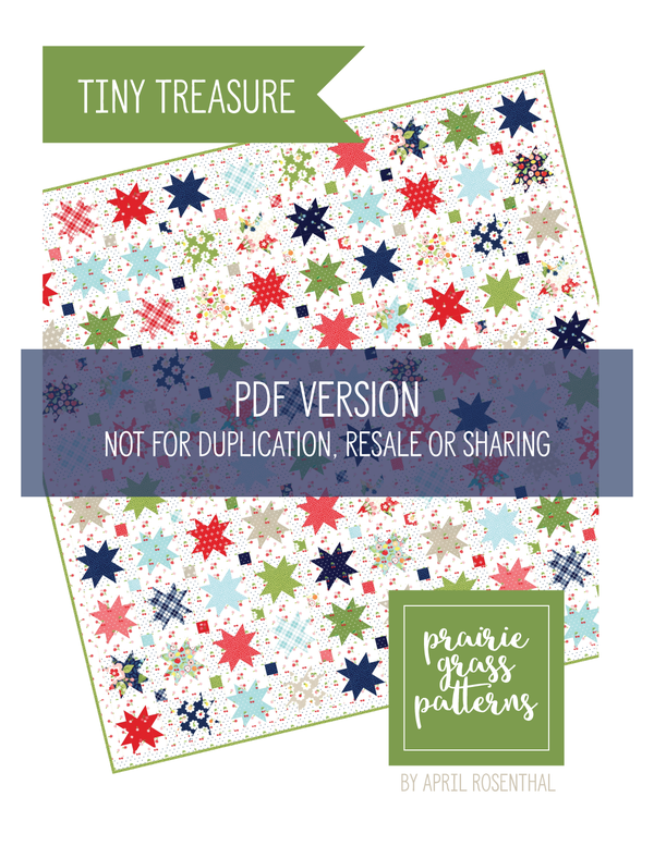Image of Tiny Treasure PDF Pattern #152