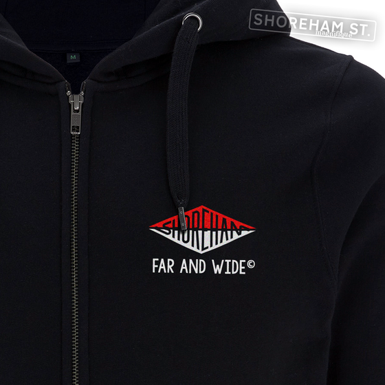Image of Far & Wide - Split Logo Zip Hoodie