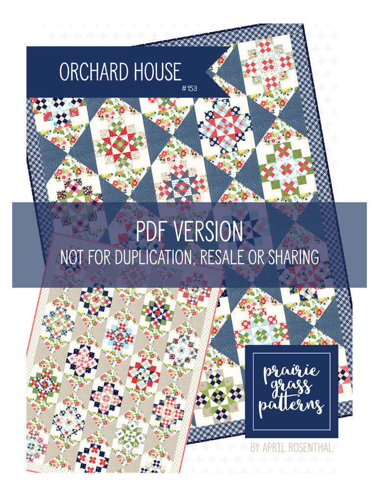 Image of Orchard House PDF Pattern #153