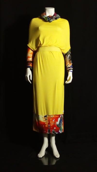 Image of The Windmills Tube Dress (yellow)