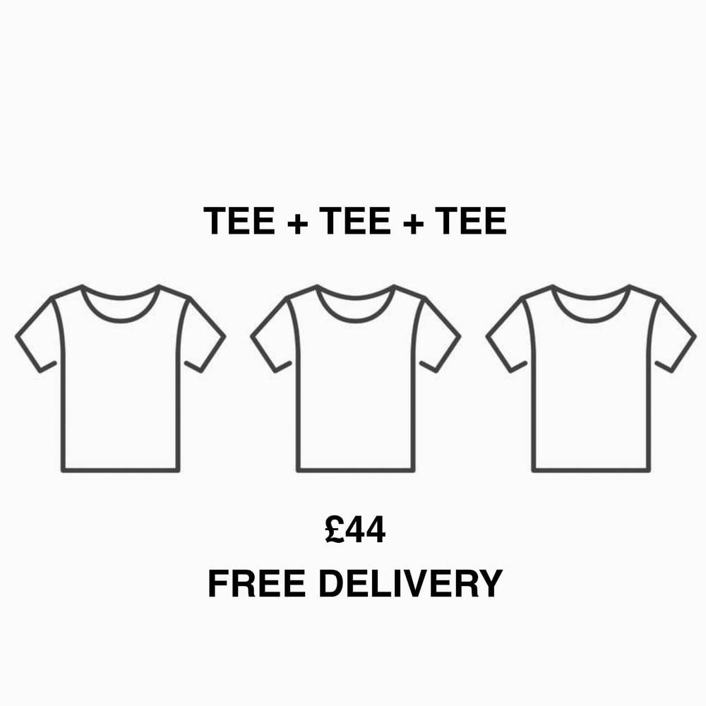 Image of TEE + TEE + TEE