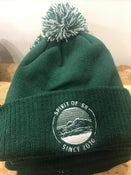 Image of Spirit of '58 Beanie in bottle green/off white