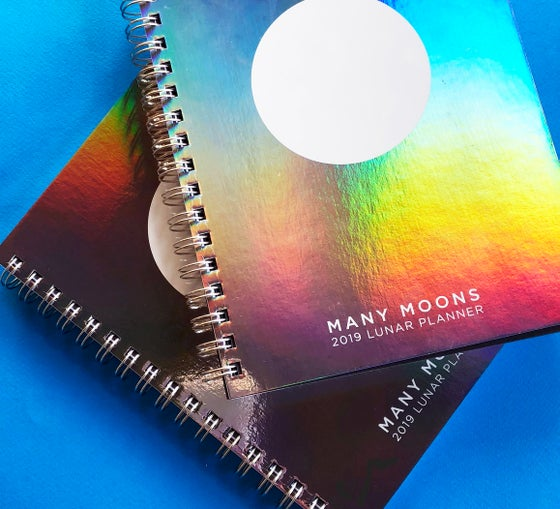 Image of *CANADA* MANY MOONS LUNAR PLANNER 2019