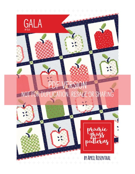 Image of Gala PDF Pattern