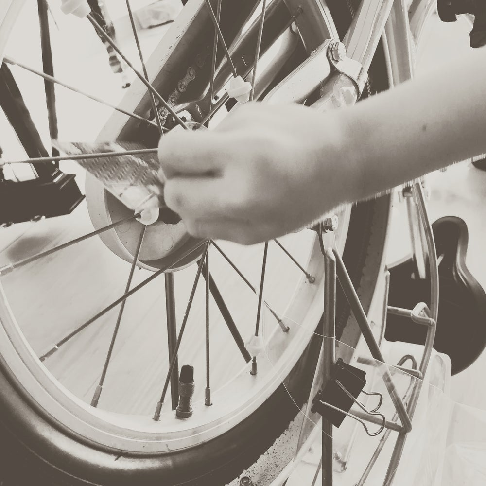 Image of Three Legs and a Wheel - for grand piano and bicycle